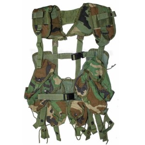 Chaleco LBV II Original US Load Bearing  Vest woodland NUEVO