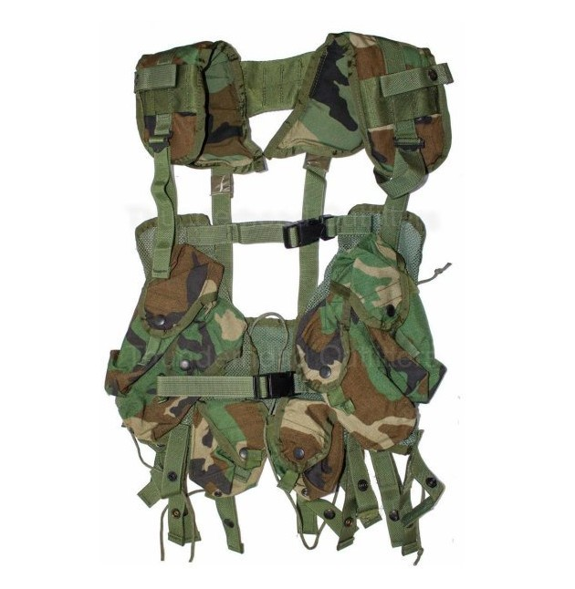 Chaleco LBV Original US Load Bearing  Vest woodland NUEVO