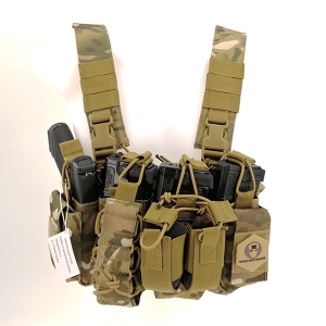 CHALECO CHEST RIG M4 MULTICAM