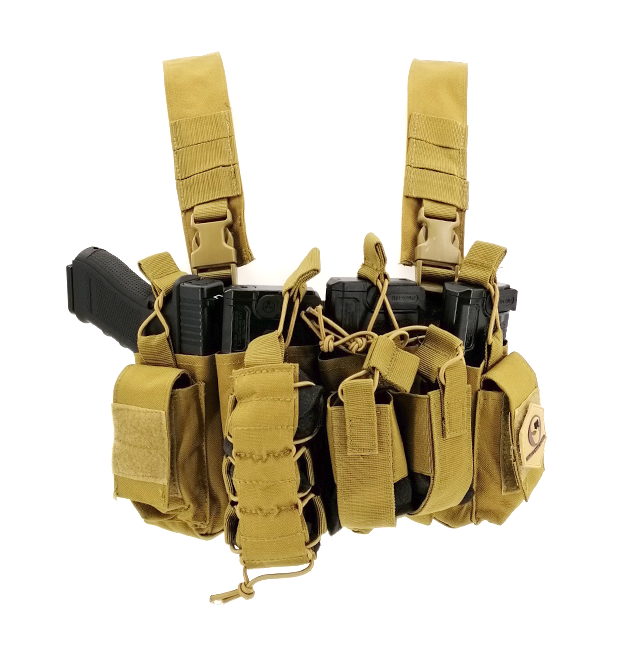 CHALECO CHEST RIG M4 COYOTE