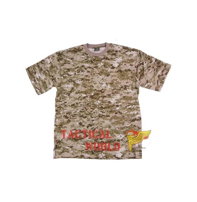 Camiseta digital Desert, Talla S