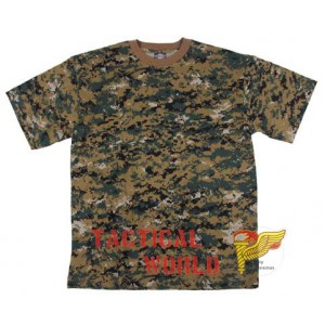 Camiseta digital Woodland, Talla S